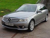 USED 2009 09 MERCEDES-BENZ C CLASS 2.1 C220 CDI SPORT 5d AUTO 168 BHP HEATED SEATS +   BLUETOOTH +  2 PREVIOUS KEEPERS +  FRONT AND REAR PARKING AID +