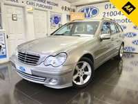 USED 2005 05 MERCEDES-BENZ C CLASS 1.8 C180 KOMPRESSOR AVANTGARDE SE 5d 141 BHP