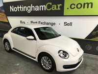 USED 2013 13 VOLKSWAGEN BEETLE 1.6 TDI BLUEMOTION TECHNOLOGY 3d 104 BHP