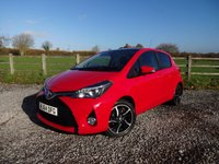 USED 2014 64 TOYOTA YARIS 1.3 VVT-I SPORT 5d 99 BHP EXCELLENT SPECIFICATION SMALL CAR + 2 OWNERS + FSH