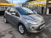 2009 FORD KA 1.2 ZETEC 3d 69 BHP IN SILVER WITH ONLY 54000 MILES AND A FULL SERVIVE HISTORY. £3699.00