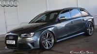2014 AUDI RS4 AVANT 4.2FSi V8 QUATTRO AUTO 444 BHP £31990.00