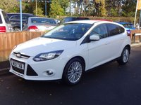 2012 FORD FOCUS 2.0 ZETEC TDCI 5dr, Automatic £5500.00