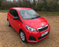 USED 2016 65 PEUGEOT 108 1.0 ACCESS 3d 68 BHP
