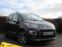 USED 2013 63 CITROEN C3 PICASSO 1.4 PICASSO SELECTION 5d * FRONT AND REAR SUNROOF * LOW MILEAGE *