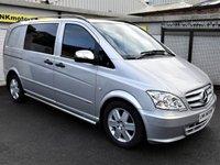 USED 2012 62 MERCEDES-BENZ VITO 3.0 122 CDI DUALINER 1d AUTO 224 BHP ** NO VAT - NO VAT - NO VAT **