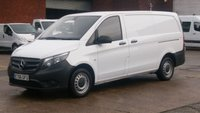 2017 MERCEDES-BENZ VITO 1.6 111 CDI 1d 114 BHP £300 CASH BACK IN DECEMBER!!! 1 OWNER F/S/H 2 KEYS VERY LOW MILES 36000 MILES  £12450.00