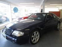 USED 2000 MERCEDES-BENZ SL 3.2 SL320 2d AUTO 221 BHP