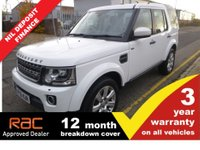USED 2016 16 LAND ROVER DISCOVERY 3.0 SDV6 SE TECH 5d AUTO 255 BHP