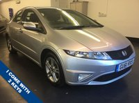 USED 2011 61 HONDA CIVIC 1.3 I-VTEC SI 5d 98 BHP RAC WARRANTY, HALF LEATHER SEATS 2 SETS OF KEYS