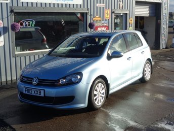 2012 VOLKSWAGEN GOLF 1.6 S TDI BLUEMOTION 5d 103 BHP 37K £7495.00