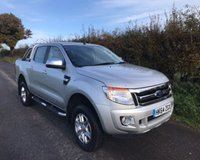 2015 FORD RANGER LIMITED 4X4 DCB TDCI £11995.00