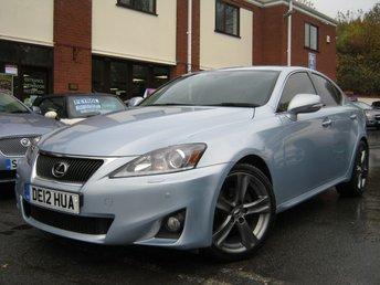 2012 LEXUS IS 2.5 250 ADVANCE 4d AUTO 205 BHP £9988.00