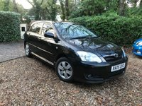2005 TOYOTA COROLLA 1.4 COLOUR COLLECTION D-4D 5d AUTO 89 BHP £2689.00