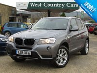 USED 2014 14 BMW X3 2.0 XDRIVE20D SE 5d AUTO 181 BHP Easy To Drive Automatic