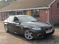 2013 BMW 5 SERIES 520D M SPORT (£6,175 OF EXTRAS) 5dr £11490.00