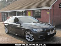 USED 2013 13 BMW 5 SERIES 520D M SPORT (£6,175 OF EXTRAS) 5dr OVER £6,000 WORTH OF OPTIONAL EXTRAS INCLUDING SAT NAV