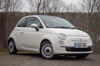 2011 FIAT 500 1.2 LOUNGE 3d 69 BHP £4250.00