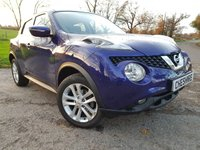2016 NISSAN JUKE 1.5 ACENTA DCI 5d +PRIVACY GLASS+ALLOY UPGRADE+CLIMATE £6975.00