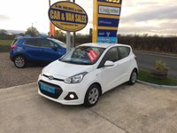 2015 HYUNDAI I10 SE 1.0 5 DOOR IN WHITE *ONE LADY OWNER**FHSH**WOW 11,000 MILES* £5495.00
