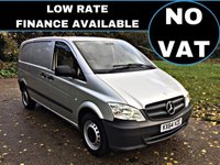 2014 MERCEDES-BENZ VITO 2.1 113 CDI 1d 136 BHP NO VAT TO PAY £10295.00