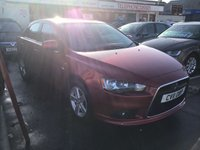 USED 2011 11 MITSUBISHI LANCER 2.0 GS2 DI-D 5d 138 BHP Diesel 5 door family hatchback, 6 speed air/con, alloys, superb