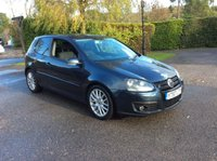 USED 2007 57 VOLKSWAGEN GOLF 2.0 GT SPORT TDI 3d 138 BHP PX TO CLEAR DEALER PX TO CLEAR LONG MOT