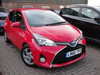 USED 2016 66 TOYOTA YARIS 1.5 VVT-I ICON M-DRIVE S 5d AUTO 73 BHP ANY PART EXCHANGE WELCOME, COUNTRY WIDE DELIVERY ARRANGED, HUGE SPEC