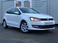 USED 2012 12 VOLKSWAGEN POLO 1.2 MATCH 3d 59 BHP CANDY WHITE PREMIUM WARRANTY INCLUDED
