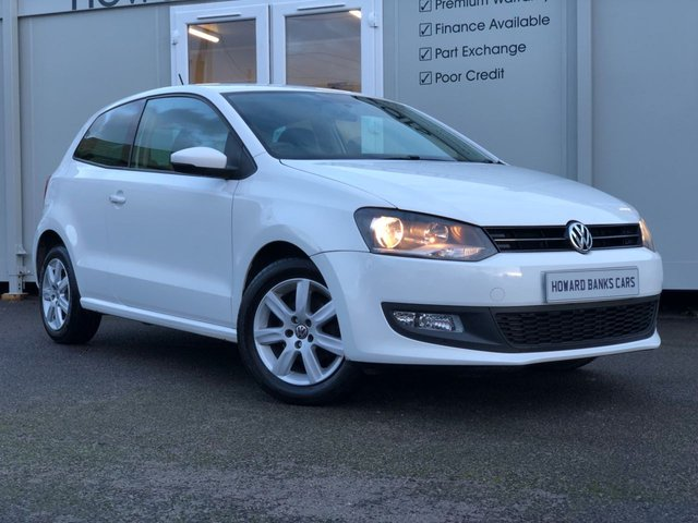 2012 12 VOLKSWAGEN POLO 1.2 MATCH 3d 59 BHP CANDY WHITE