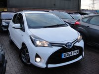 USED 2014 64 TOYOTA YARIS 1.5 HYBRID ICON 5d AUTO 73 BHP ANY PART EXCHANGE WELCOME, COUNTRY WIDE DELIVERY ARRANGED, HUGE SPEC