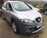 USED 2008 08 SEAT ALTEA FREETRACK 2.0 TDI DPF 5d 168 BHP 4X4 4 WHEEL DRIVE, PREVIOUSLY SUPPLIED
