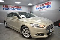 USED 2015 15 FORD MONDEO 1.5 TITANIUM ECONETIC TDCI 5d 114 BHP Free Tax, Bluetooth, Cruise Control, Sat Nav, Park sensors