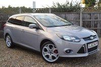 2012 FORD FOCUS 1.6 ZETEC 5d 104 BHP £6999.00