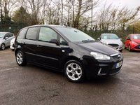 2008 FORD C-MAX 1.8 ZETEC 5d PART EXCHANGE TO CLEAR MOT JUNE 19 £2250.00