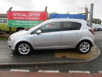 USED 2010 59 VAUXHALL CORSA 1.2 SXI A/C 5d 83 BHP 6 Stamps Of Service History .New MOT & Full Service Done on purchase + 2 Years FREE Mot & Service Included After . 3 Months Russell Ham Quality Warranty . All Car's Are HPI Clear . Finance Arranged - Credit Card's Accepted . for more cars www.russellham.co.uk  Spare Key - Owners Book Pack.