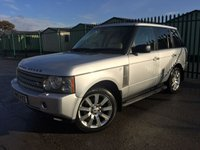2005 LAND ROVER RANGE ROVER 2.9 TD6 VOGUE 5d AUTO 175 BHP ALLOYS PRIVACY NAVI CRUISE LEATHER FSH MOT 10/19 £7990.00