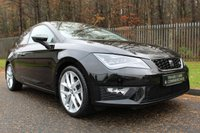 USED 2015 65 SEAT LEON 1.4 TSI FR TECHNOLOGY 3d 150 BHP A STUNNING LOW MILEAGE LEON WITH A FULL HISTORY AND GREAT SPECIFICATION!!!