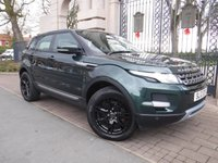 USED 2012 12 LAND ROVER RANGE ROVER EVOQUE 2.2 ED4 PURE TECH 5d 150 BHP FINANCE ARRANGED***PART EXCHANGE WELCOME***SERVICE HISTORY***NAV***BLUETOOTH***DAB***AIR CON***HEATED SCREEN***HEATED FRONT SEATS