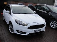 USED 2015 15 FORD FOCUS 1.0 ZETEC 5d 124 BHP ANY PART EXCHANGE WELCOME, COUNTRY WIDE DELIVERY ARRANGED, HUGE SPEC
