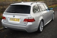 USED 2005 05 BMW 5 SERIES 2.5 525D SPORT TOURING 5d AUTO 175 BHP SERVICE HISTORY, SAT NAV, SPORTS LEATHER SEATS, RADIO CD PLAYER
