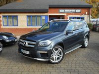 USED 2013 13 MERCEDES-BENZ GL CLASS 3.0 GL350 CDI BLUETEC AMG SPORT 5d AUTO 258 BHP 2 OWNERS FSH! COMMAND! LOVELY!