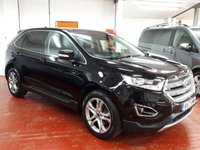 2017 FORD EDGE 2.0 TDCI (180 PS) (AWD) TITANIUM (S/S)  £SOLD