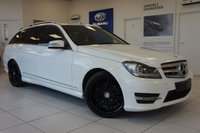 2012 MERCEDES-BENZ C CLASS 2.1 C220 CDI BLUEEFFICIENCY AMG SPORT PLUS 5d 168 BHP £11995.00