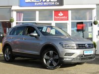 USED 2016 16 VOLKSWAGEN TIGUAN 2.0 SEL TDI BMT 4MOTION 5d 148 BHP Stunning, VW Tiguan 2.0 SEL TDI Blue Motion 4 Motion 4x4 148 BHP. Finished in TUNGSTEN SILVER MET with contrasting Black ALCANTARA LEATHER interior. The Tungsten silver finish gives this Tiguan a more sophisticated look to add to its high quality interior and high spec. In short this Tiguan is spacious, comfortable and great to drive, while its raised driving position gives you a great view. Dealer serviced at 19318 miles and at 34882 miles on 11/10/2018. Still under Manufacturers Warranty.