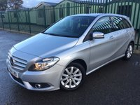 2014 MERCEDES-BENZ B CLASS 1.5 B180 CDI BLUEEFFICIENCY SE 5d AUTO 107 BHP ALLOYS PARKING SENSORS CLIMATE CRUISE FSH £10490.00