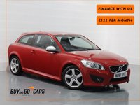 USED 2011 61 VOLVO C30 1.6 D2 R-DESIGN 3d 113 BHP Finance Available In House