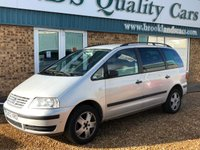 2002 VOLKSWAGEN SHARAN 2.0 SL 5d Sold as spares and repairs Failed its mot no warranty given  £295.00