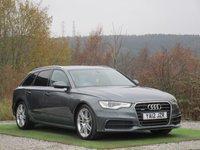 USED 2012 12 AUDI A6 3.0 AVANT TDI QUATTRO S LINE 5d AUTO 245 BHP