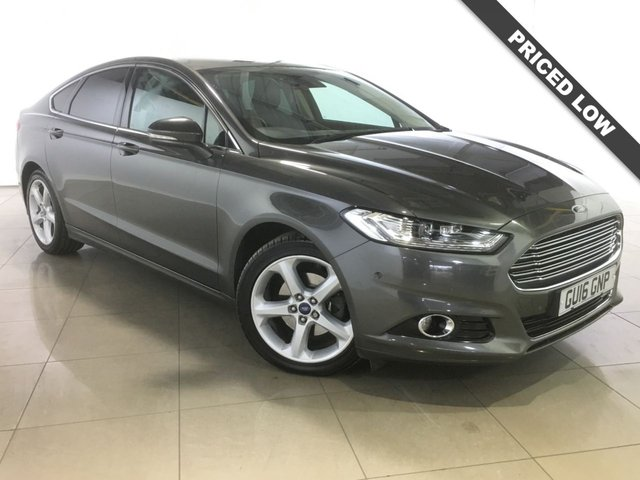 View our 2016 16 FORD MONDEO 2.0 TITANIUM TDCI 5d 177 BHP